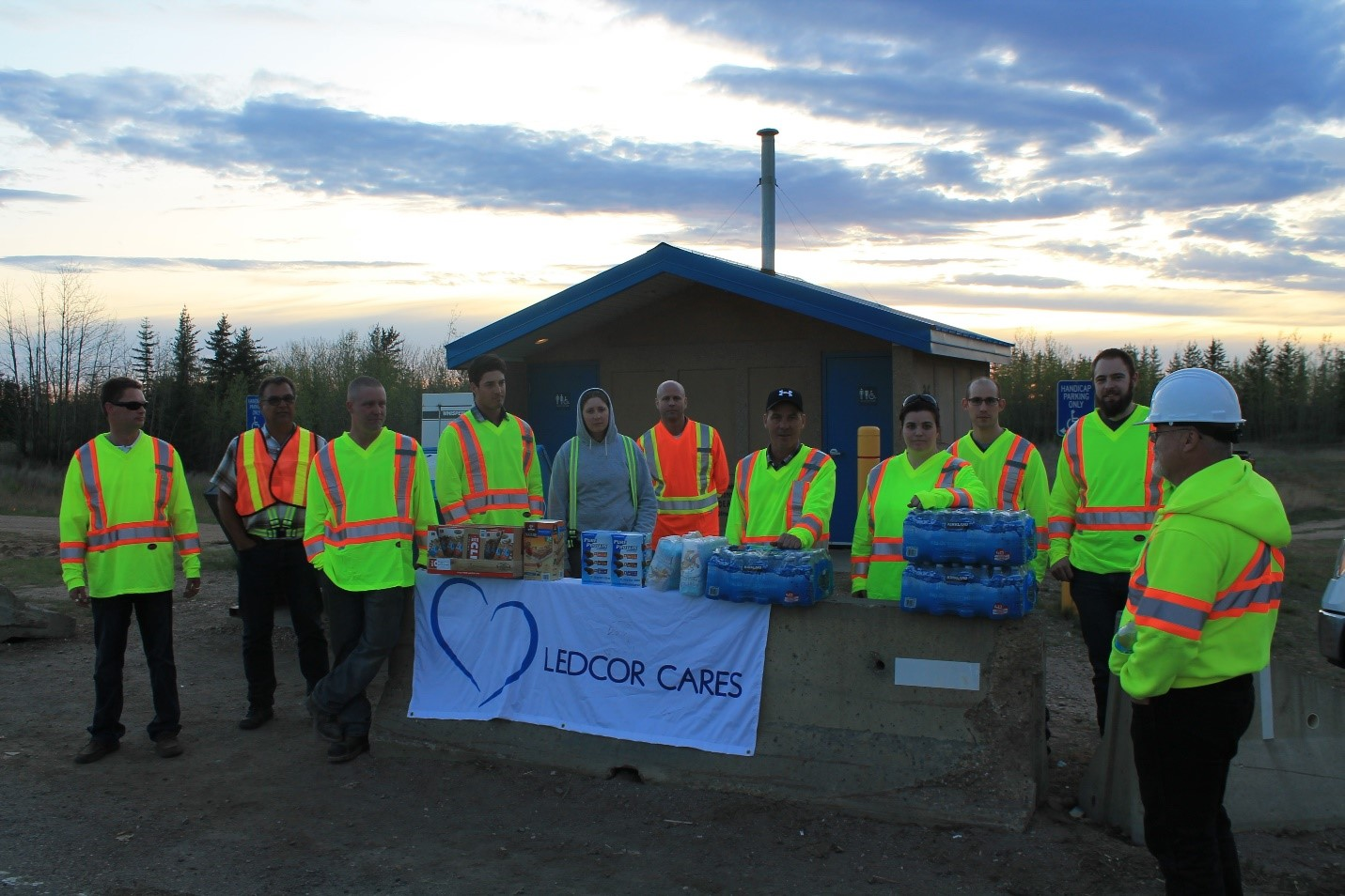 news group employees step up in fort mcmurray s time of need