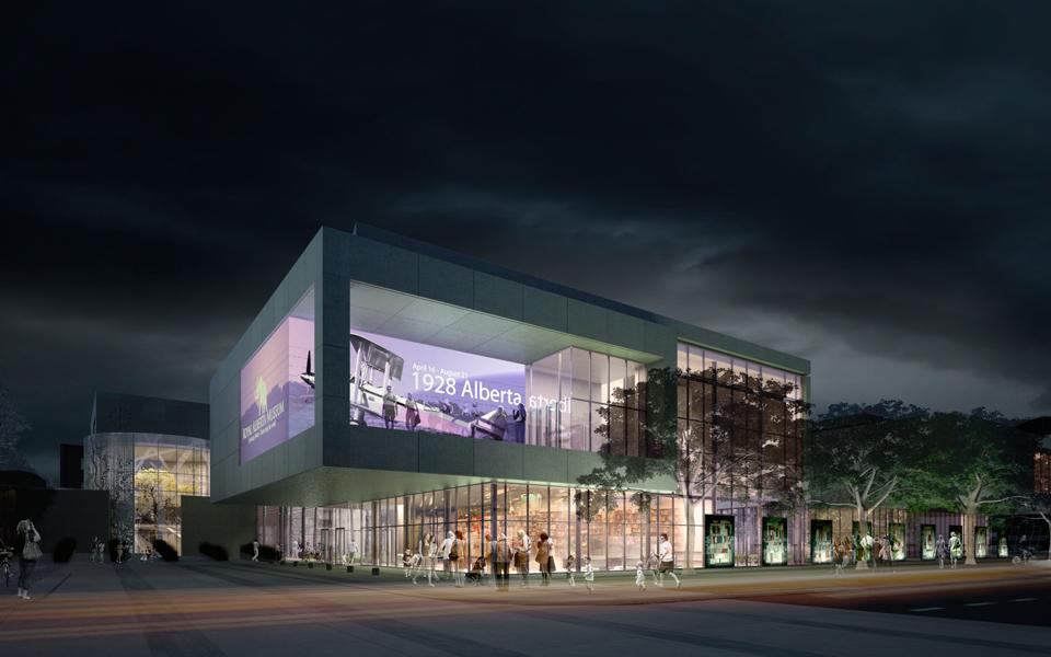 Royal Alberta Museum Ledcor Group
