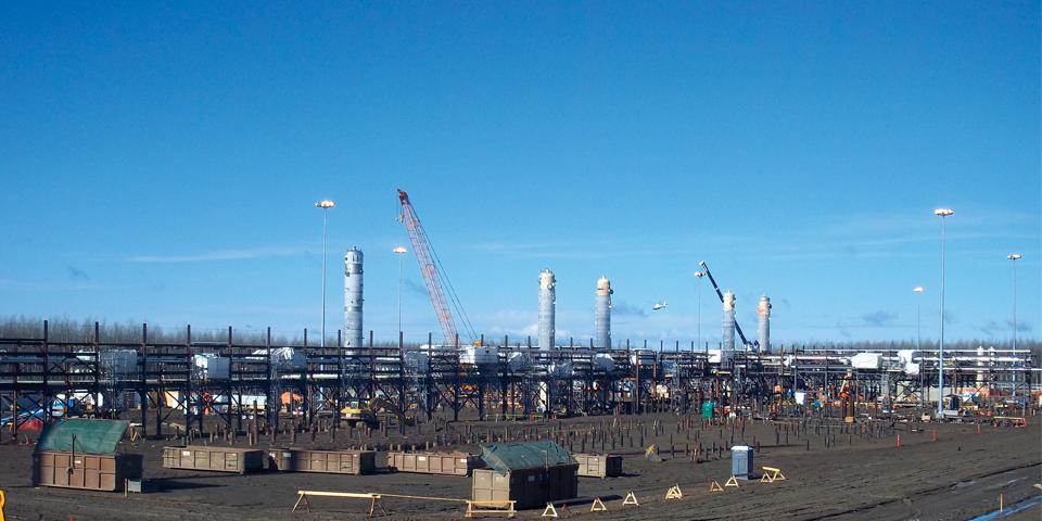 Oil & Gas Construction Services | Ledcor Group